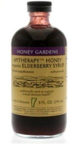 Honey Gardens Apiaries: Elderberry Syrup 8 ounces