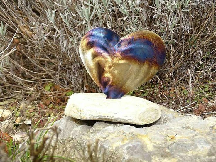 19 best Kunst aus Metall und Stein für Haus und Garten von - gartendeko aus stein und metall