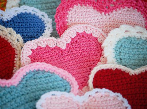 207 best ✂ Crochet - Hearts images on Pinterest | Crochet hearts ...
