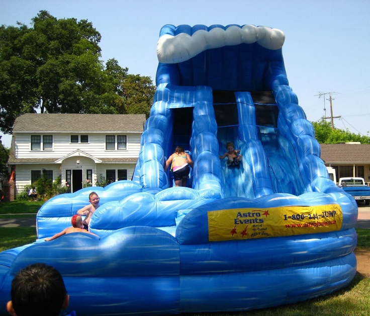 Inflatable Slide Rental Jacksonville Fl: 16 Best Water Slide Rentals Tampa Images On Pinterest