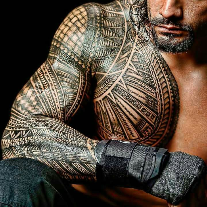 Tribal! | Roman Reigns♡♡♡This Is MY Yard! | Tribal tattoos ...