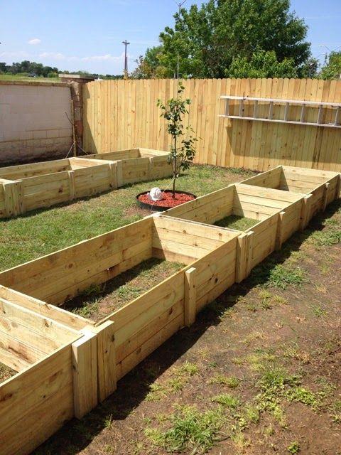 Weekend DIY Project - Raised Garden Beds