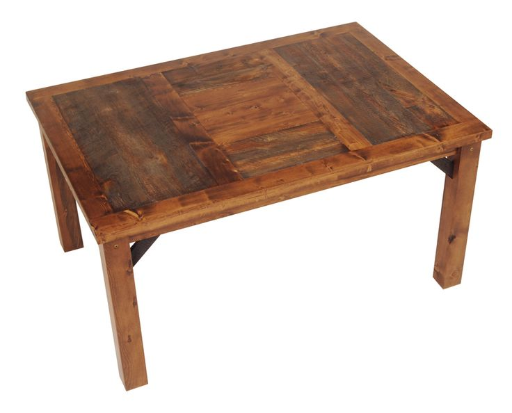 Nice Rustic Dining Table With Wooden Touch: Reclaimed Wooden Material For Best Rustic Dining Table