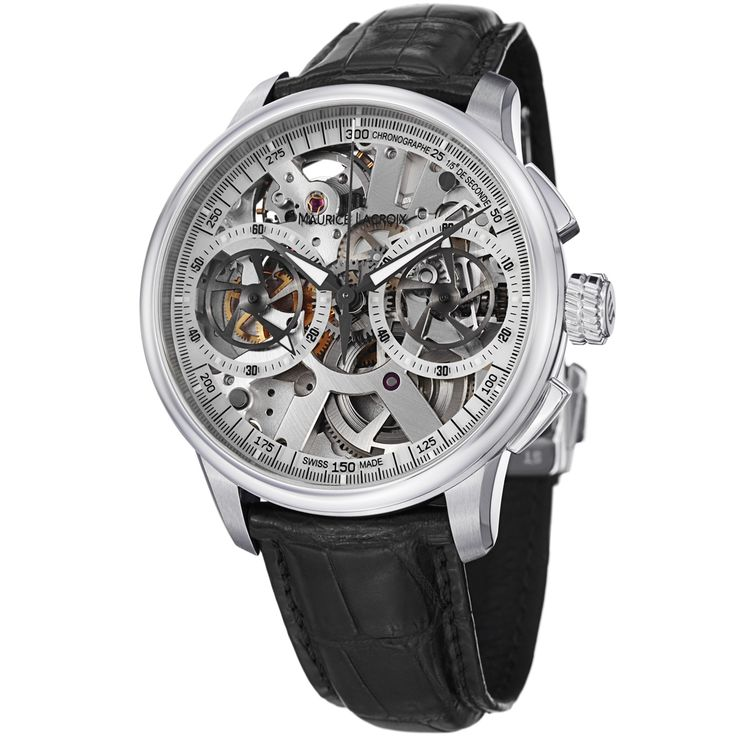 17 best images about watches the internet tag maurice lacroix men s mp7128 ss001 100 masterpiece skeleton dial leather strap watch by maurice lacroix