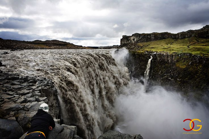 Iceland, falls, water