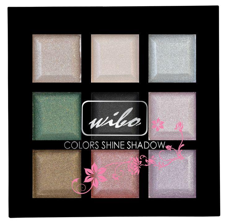 Cień Color Shine #wibo #wibopl #wibokosmetyki #eyeshadows