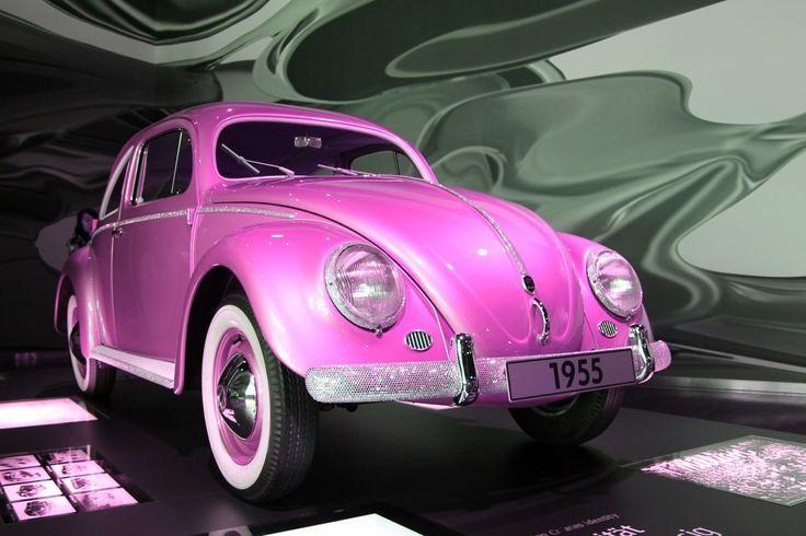 VW Käfer pink