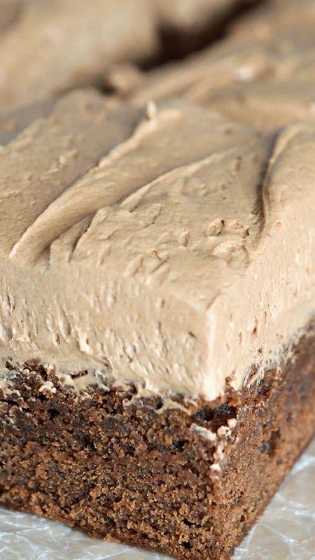 Cake like chocolate brownie recipe