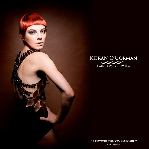 Kieran O'Gorman branding and brochures