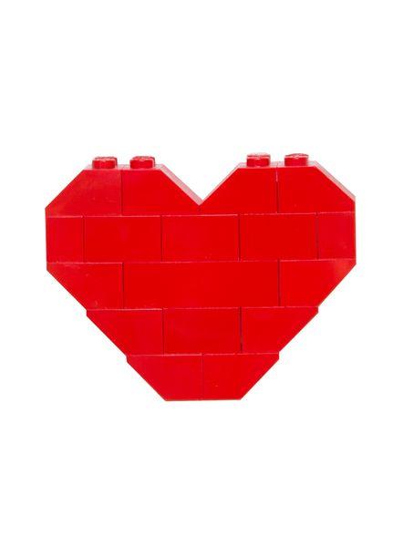 LEGO HEART PIN