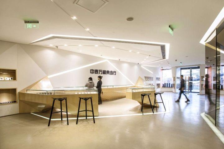 «Бриллиантовый» дизайн ювелирного магазина Zhongta в Китае