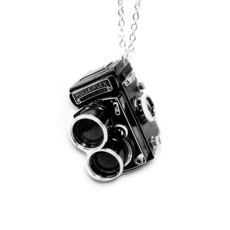 Vintage Camera Necklace by Tilly Bloom