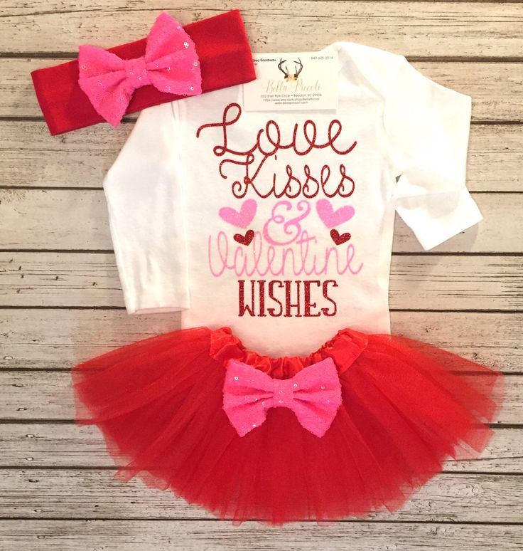 A personal favorite from my Etsy shop https://www.etsy.com/listing/487102242/baby-girls-clothes-valentines-bodysuit