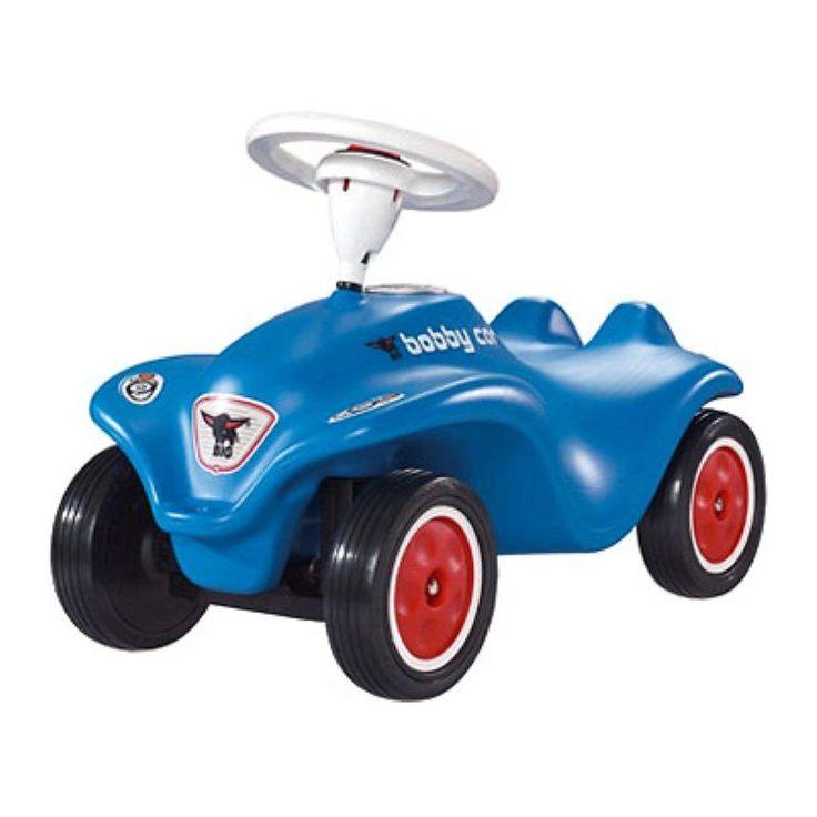 Big Bobby Car Riding Push Toy - Blue - BIG-56201