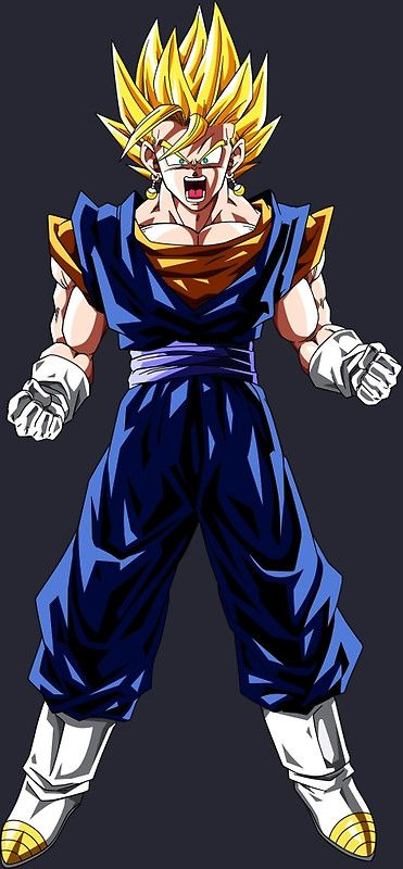 Dragon Ball Z Goku Vegeta Vegito Gogeta Anime Manga Shirt Von ToDum2Lov3