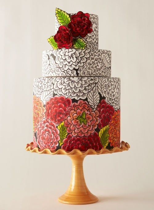 17 Best images about Unique Wedding Cake on Pinterest ...
