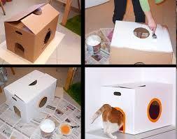 Juguetes para gatos - casita