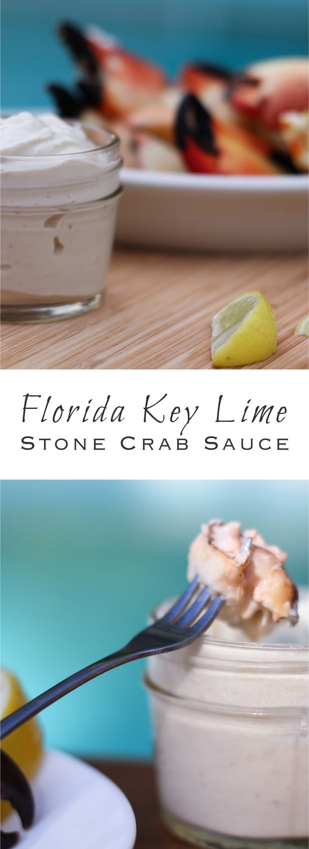 The perfect sauce for sweet, succulent stone crabs: creamy but light, made with fresh Key lime juice. Also includes instructions for cooking your freshly harvested stone crab claws!