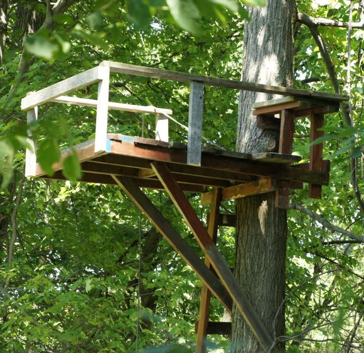How To Build A Deer Stand Free Plans