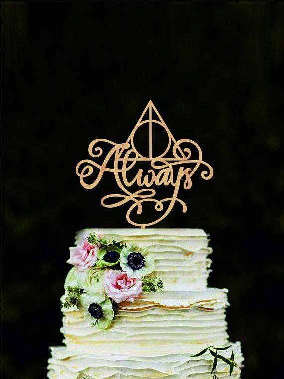 Harry Potter wedding cake topper Always cake topper Harry