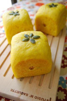 「かぼちゃの豆乳キューブパン」ayaka   お菓子・パンのレシピや作り方【corecle*コレクル】