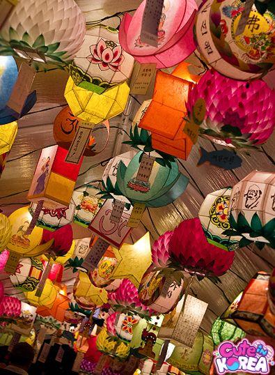 Buddha's Birthday + Lotus Lantern Festival, Korea