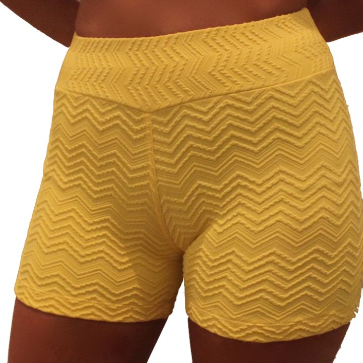 Yellow Texture Short from Active Wear for $25.00
