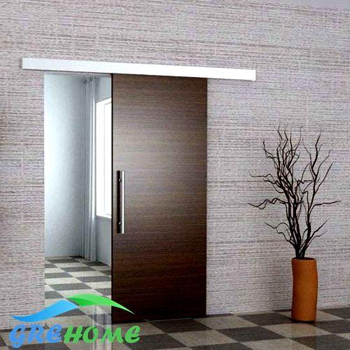 Aleación De Aluminio de 6.6 pies granero hardware de la puerta deslizante