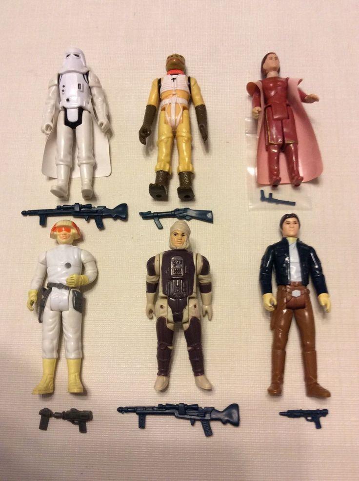 Vintage Star Wars ESB Action Figures Set Of 29 Leia, Luke Skywalker, Yoda, ++++   eBay
