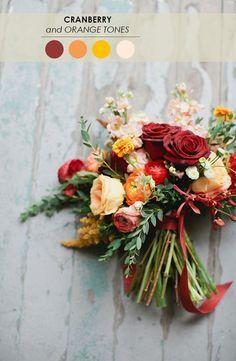 Hochzeit im Herbst | Brautstrauss im Herbst - 16 tolle Inspirationen für die Hochzeit