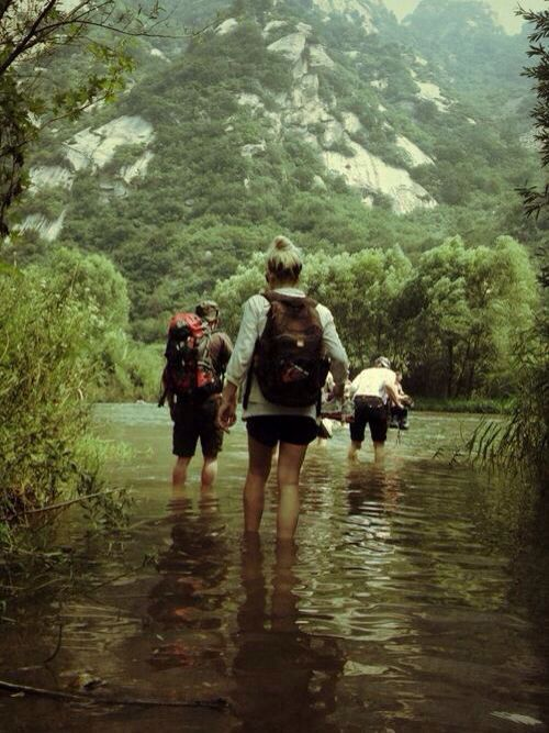 """""""Adventure is not outside man; it is within."""" ― George Eliot"""