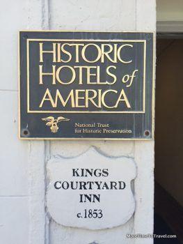 Kings Courtyard Inn - Charleston SC - Historic Hotels of America