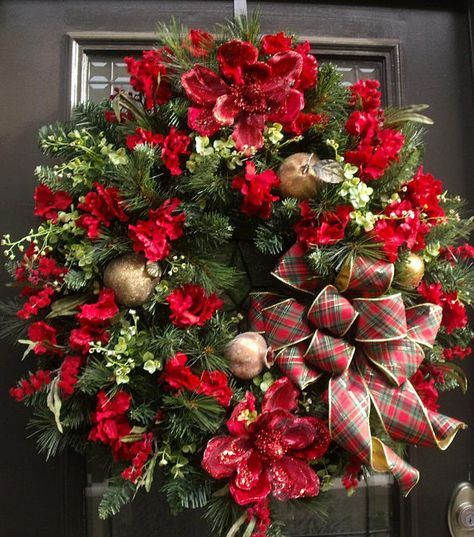 Williamsburg Wreath Extra Large Christmas Wreath Christmas