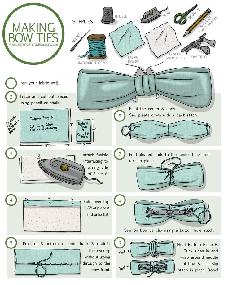 Bow ties! I've been making quite a few as samples for myHand Sewing & Bow  Tie classat Needlework. I've been clipping them to everything, just  because bow tie clips are so enjoyable. (You can see a drawing of what they  look like on the illustrated instructions).