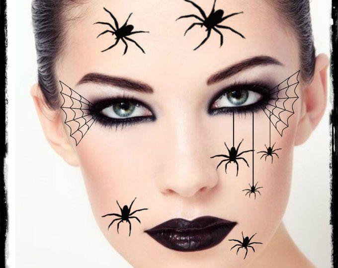 Tatouage temporaire Bat yeux Halloween Costume visage