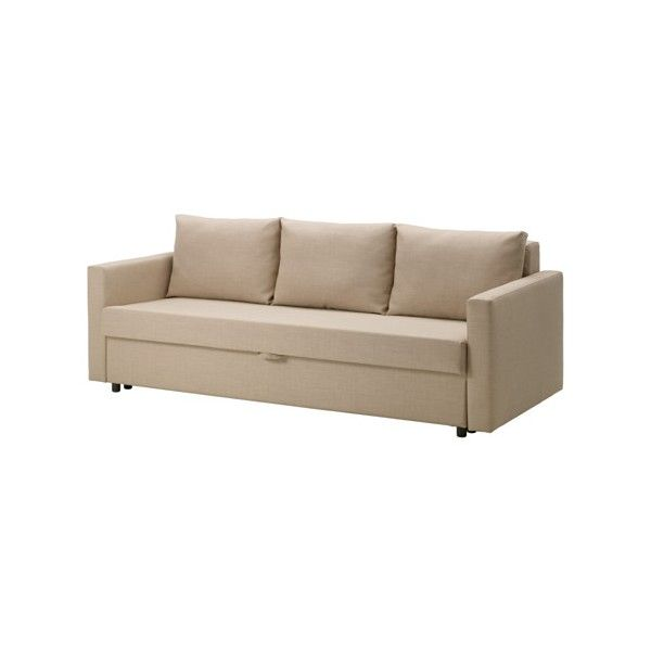 Sofa Mart IKEA FRIHETEN Sofa bed Skiftebo beige Easily converts into a bed Large practical storage space under the seat
