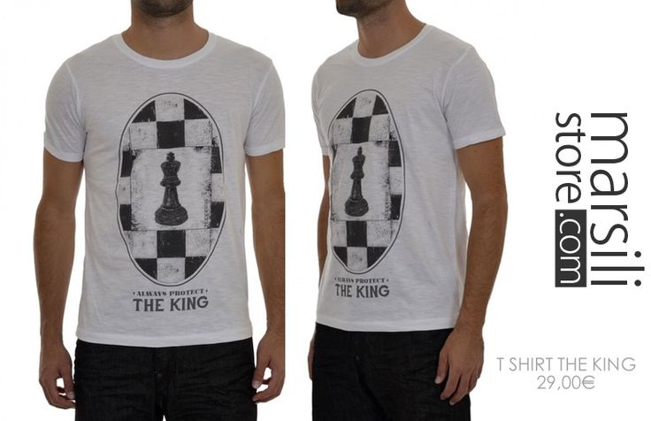Mai senza T-Shirt!  http://www.marsilistore.it/t-shirt-stampa-the-king.html  #tshirt #looksportivo #marsiliformen #theking