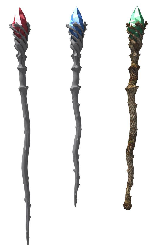 3d aghanim scepter model