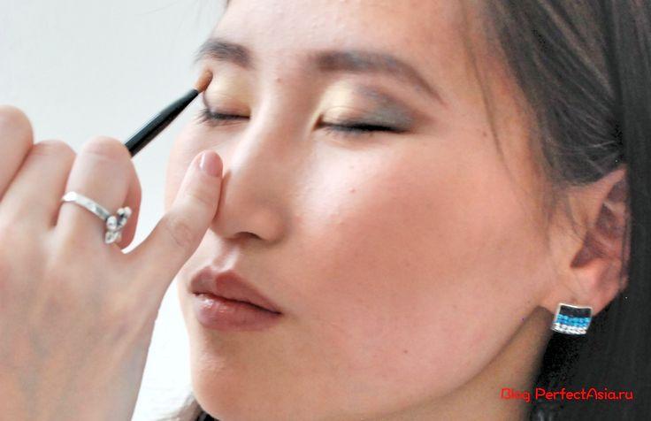 Карандашная техника для макияжа азиатских глаз   Блог о моде и красоте с Востока