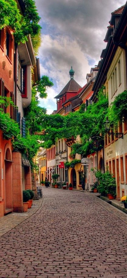 Freiburg, Germany. One of the most beautiful small towns in the country.