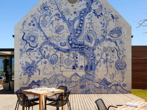 The beautiful mural at Bosjes Kombuis. Photo supplied.