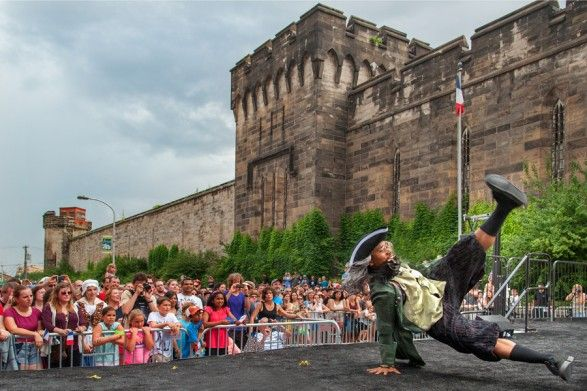 Bastille Day Festival at Eastern State Penitentiary // July 2016