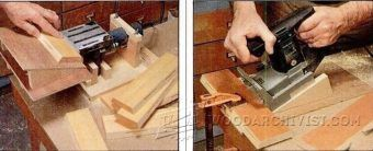 Biscuit Joiner Spline Jig - Joinery Tips, Jigs and Techniques | WoodArchivist.com