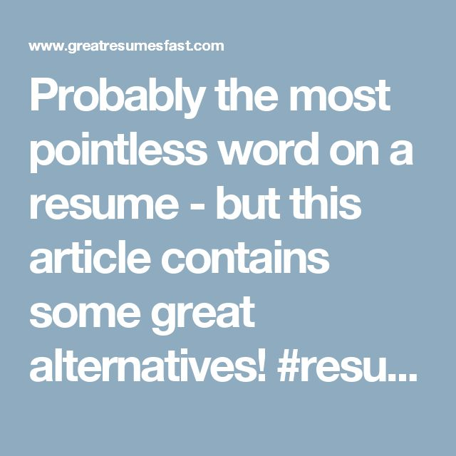 64 best 2017 Resume Tips images on Pinterest September, Blog - tips for resumes