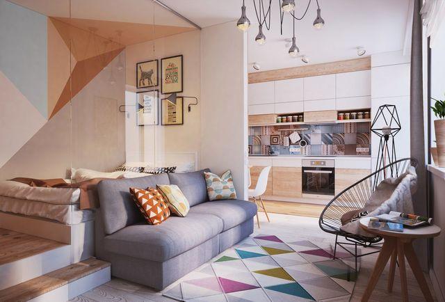 Studio Etudiant 12 Idees Deco Pour Petit Appartement Petit