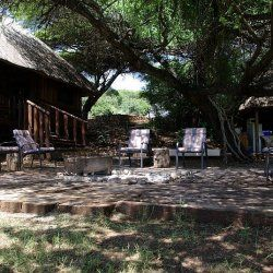 View over fireplace|Esikhotheni Private Game Reserve