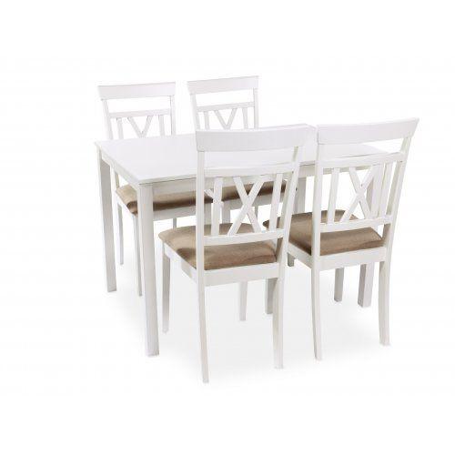 Обеденная группа для столовой и гостиной Mr. Kim Стол ES 2 (wh)+стулья ES2003-5(wh)