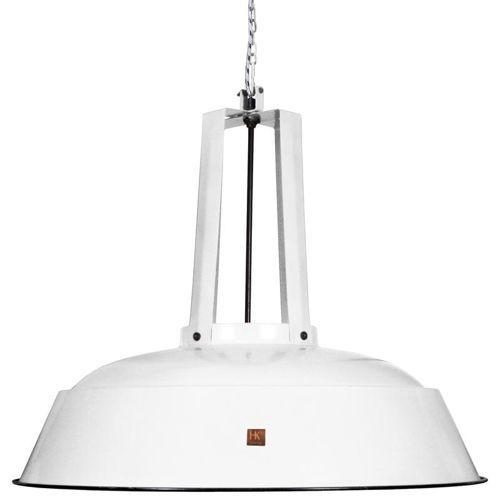 HK Living :: Przemysłowa lampa Workshop biała, rozm. L