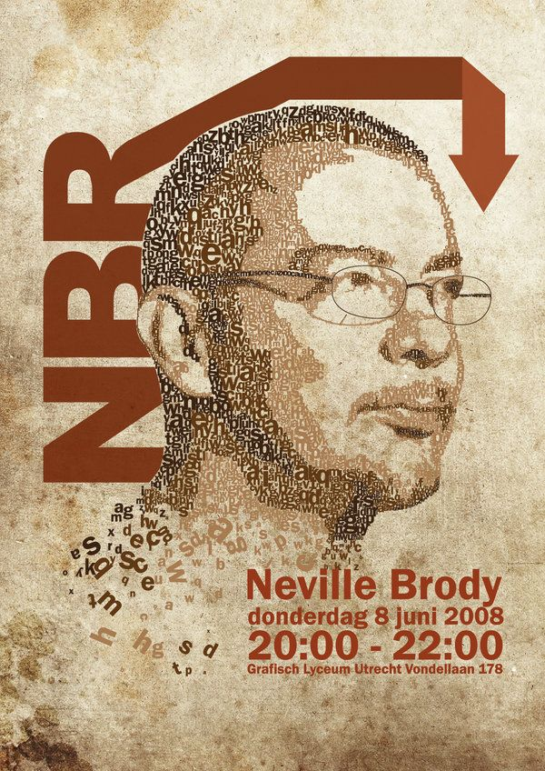 Neville Brody - for being a Typography Ninja