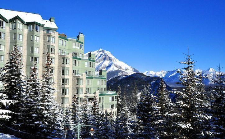 Rimrock Resort Hotel at Banff - Accommodation at the Rimrock Resort Hotel in Banff, Alberta, Canada